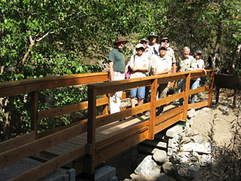 Bridge at Rincon Environmental Education Center